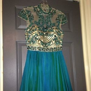 2014 SHERRI HILL HOMECOMING DRESS
